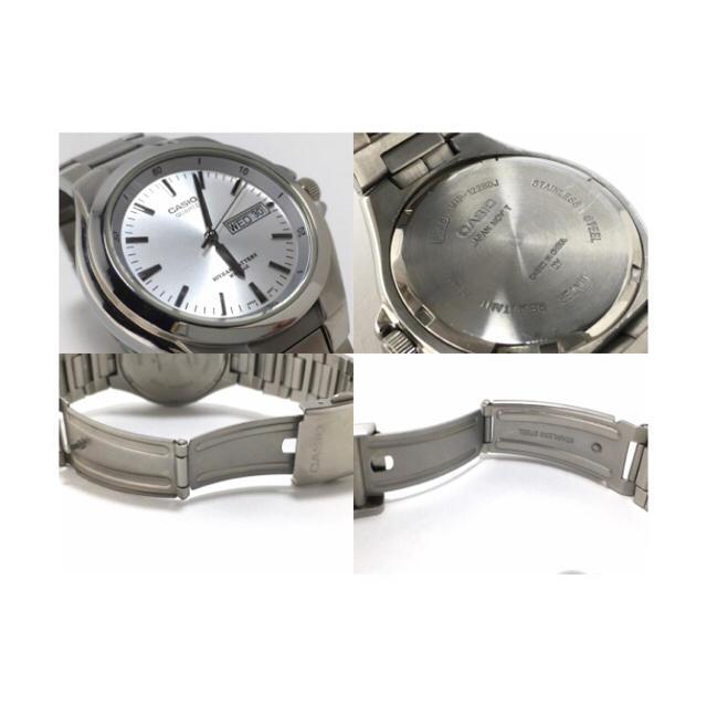 CASIO(カシオ)のカシオ クオーツ時計 MTP-1228DJ CASIO シルバー メンズの時計(腕時計(アナログ))の商品写真