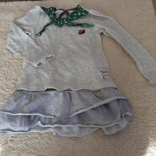 ジーユー(GU)のお値下げ コーディネートセット120〜130(Tシャツ/カットソー)