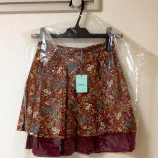 デイシー(deicy)のdeicy 花柄スカート♡(ひざ丈スカート)