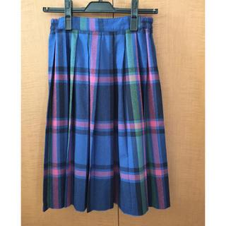 サマンサモスモス(SM2)のエヘカソポ プリーツスカート(ひざ丈スカート)