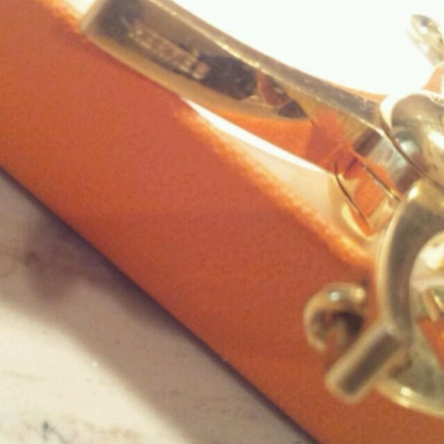 Hermes(エルメス)のエルメス★グローブホルダー★ゴールド レディースのファッション小物(その他)の商品写真