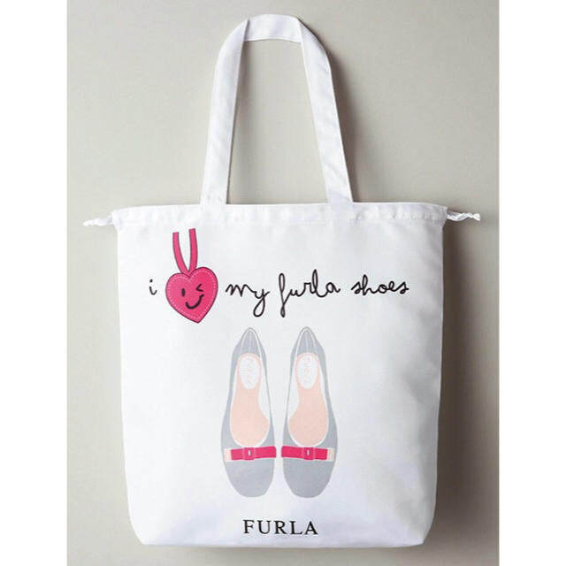 92e90a6112c5 Furla(フルラ)のFURLA MORE レディなシューズケース トートバッグ フルラ モア 付録