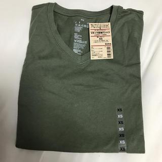 ムジルシリョウヒン(MUJI (無印良品))の無印★Vネック長袖Tシャツ(Tシャツ(長袖/七分))