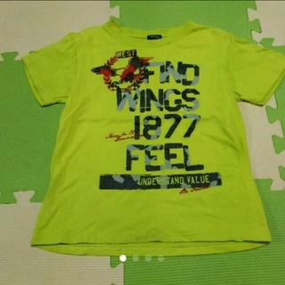 イッカ(ikka)の☆mzk様専用☆ikka 黄緑Tシャツ 120(Tシャツ/カットソー)