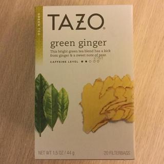 スターバックスコーヒー(Starbucks Coffee)のTAZO/スタバ グリーンジンジャーティー 20pc.(茶)