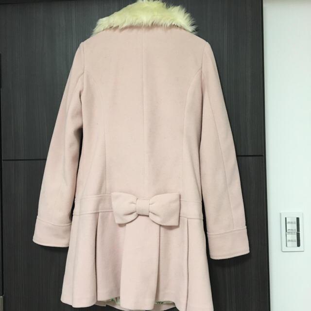 ピンクファーコート リズリサ レディースのジャケット/アウター(ロングコート)の商品写真