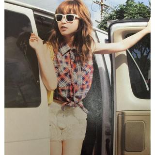 スナイデル(snidel)の紗栄子ちゃん私服 総レースショートパンツ(ショートパンツ)