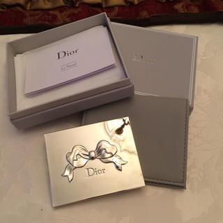 クリスチャンディオール(Christian Dior)のディオール リボンミラー 鏡(卓上ミラー)