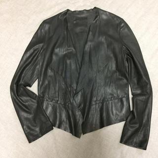 ガリャルダガランテ(GALLARDA GALANTE)のtenko5884様用 Rawtus Raw+ レザージャケット 黒 サイズ36(ライダースジャケット)