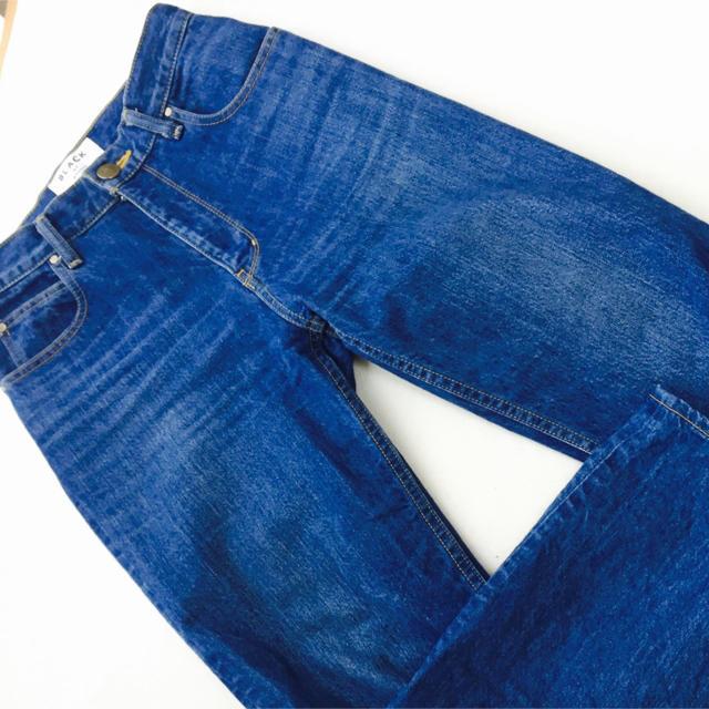 BLACK by moussy(ブラックバイマウジー)のタイムセール!!KONA natural blue denim レディースのパンツ(デニム/ジーンズ)の商品写真
