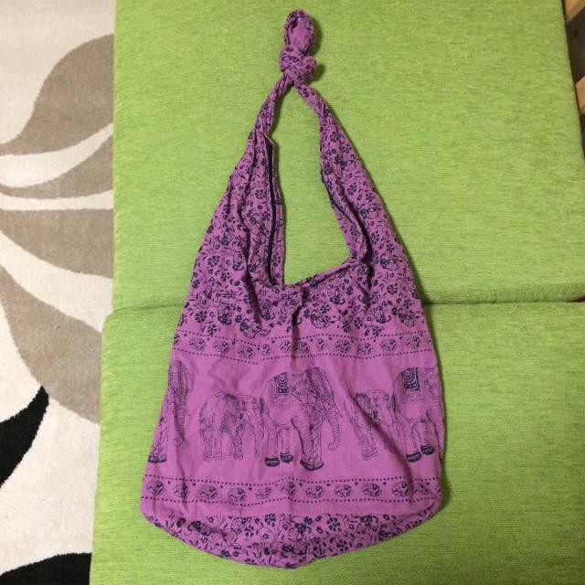 ショルダーバッグ ピンク エスニック レディースのバッグ(ショルダーバッグ)の商品写真