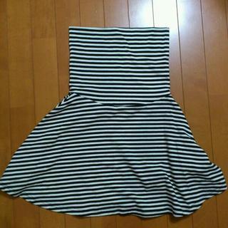 ローリーズファーム(LOWRYS FARM)のLOWRYS♡2wayボーダースカート(ミニスカート)