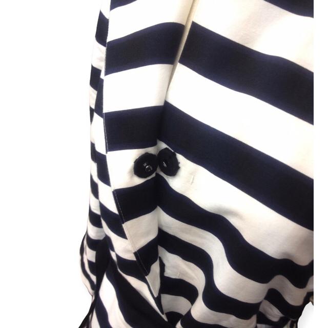 AMBELL(アンベル)のAMBELL ボーダージャケット レディースのジャケット/アウター(ノーカラージャケット)の商品写真