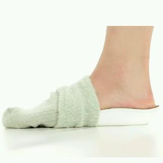 ブラック 黒 靴下 シークレット インソール 中敷き 2cm 身長アップ 伸びる(その他)