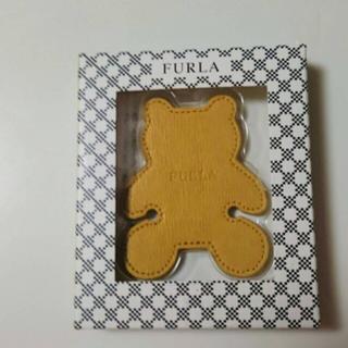 フルラ(Furla)のFULRA クマ型イヤホン小物(ストラップ/イヤホンジャック)