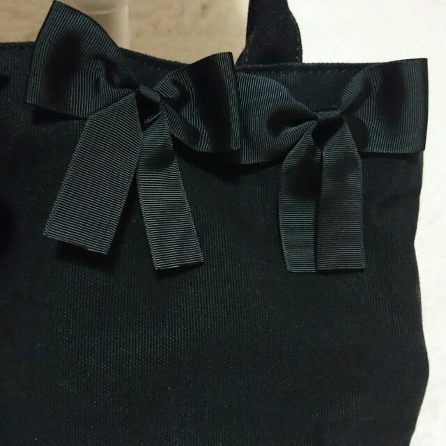 しまむら(シマムラ)のリボントートバッグ レディースのバッグ(トートバッグ)の商品写真