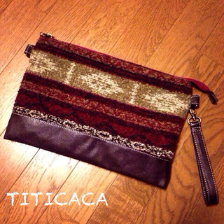 チチカカ(titicaca)の最終値下げチチカカ♡可愛いクラッチバッグ(クラッチバッグ)