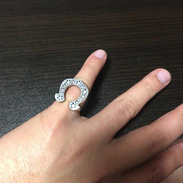 TENDERLOIN(テンダーロイン)のホースシューリング SV925 メンズのアクセサリー(リング(指輪))の商品写真