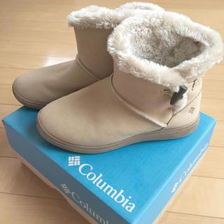 コロンビア(Columbia)のColumbia ファーショートブーツ(ブーツ)