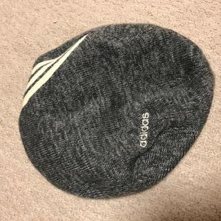 アディダス(adidas)のadidas ニットハンチング(ハンチング/ベレー帽)