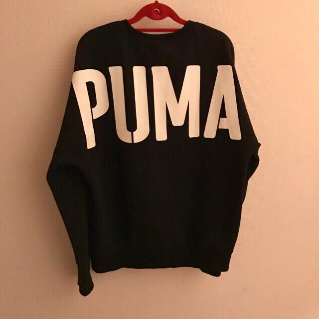 PUMA(プーマ)のPUMA♡早い者勝ち♡新品同様♡プーマ BTS トレーナー スウェット 黒 メンズのトップス(スウェット)の商品写真
