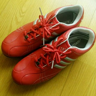 アディダス(adidas)の美品♡アディダス♡ adidas ゴルフシューズ 25.0cm レディース(シューズ)