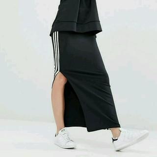 アディダス(adidas)のadidas originals 3 STRIPES LONG SKIRT(ロングスカート)