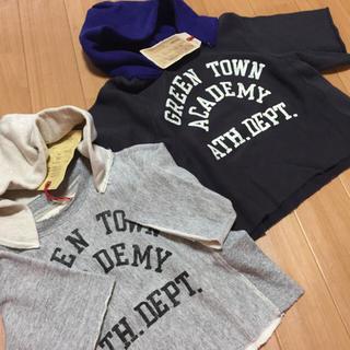ゴートゥーハリウッド(GO TO HOLLYWOOD)のゴートゥーハリウッド完売フードカットソー✴︎110新品タグ(Tシャツ/カットソー)