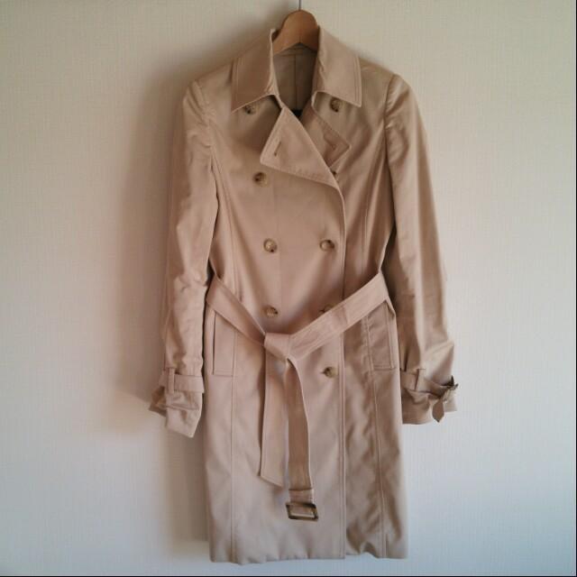 BLACK by moussy(ブラックバイマウジー)のmasan様専用トレンチコート レディースのジャケット/アウター(トレンチコート)の商品写真