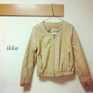 イッカ(ikka)のライダース(ライダースジャケット)