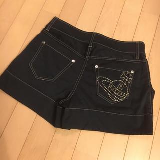 ヴィヴィアンウエストウッド(Vivienne Westwood)のセナ様専用 ヴィヴィアンウエストウッド オーブ刺繍 ショートパンツ(ショートパンツ)