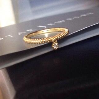 スタージュエリー(STAR JEWELRY)の美品*k18スタージュエリーダイヤモンドリング8号(リング(指輪))