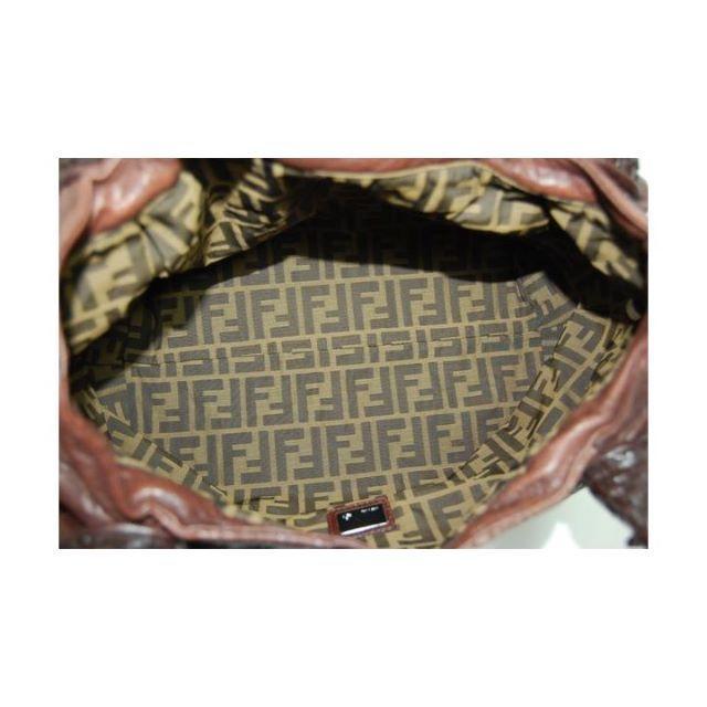 FENDI(フェンディ)のフェンディ スパイバッグ (ダークブラウン) 美品! レディースのバッグ(ハンドバッグ)の商品写真