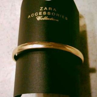 ザラ(ZARA)のZARAゴールドバングル(ブレスレット/バングル)
