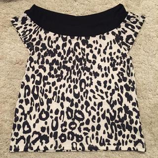 スライ(SLY)のSLY レオパードトップス(Tシャツ(半袖/袖なし))