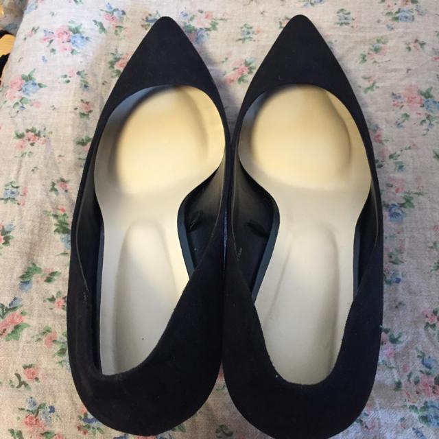 GU(ジーユー)のGU ポインテッドパンプス ブラック XL レディースの靴/シューズ(ハイヒール/パンプス)の商品写真