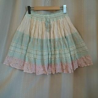 ローリーズファーム(LOWRYS FARM)の☆LOWRYS FARMプリントスカート(ミニスカート)