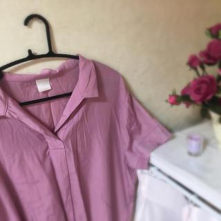 ハレ(HARE)のハレ:ピンクシャツ(シャツ/ブラウス(半袖/袖なし))