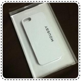 マウジー(moussy)のiPhone5/5sケース(モバイルケース/カバー)