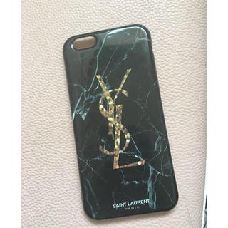 イヴサンローランボーテ(Yves Saint Laurent Beaute)のサンローラン 大理石iPhoneケース(iPhoneケース)