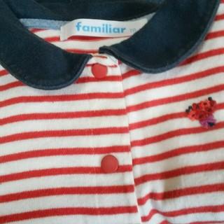 familiar(ファミリア)のファミリア ロンパース  キッズ/ベビー/マタニティのベビー服(~85cm)(ロンパース)の商品写真