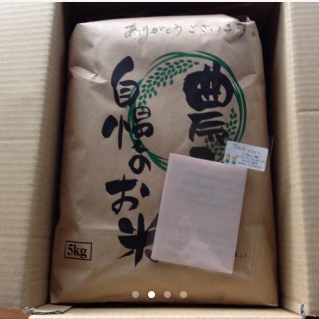 【ふわ様専用】愛媛県産こしひかり100%  5kg  農家直送 食品/飲料/酒の食品(米/穀物)の商品写真