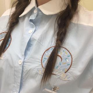 ファンキーフルーツ(FUNKY FRUIT)のFKドーナツパーカー(Tシャツ(半袖/袖なし))