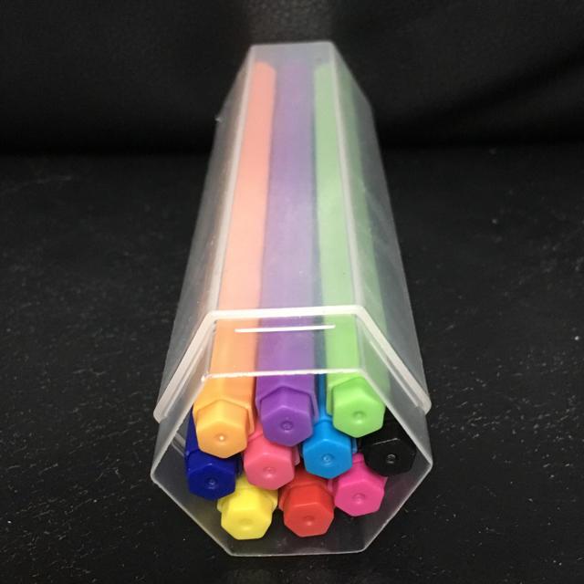 無印の六角カラーペンを買いました♡ いい感じだよー♡ #
