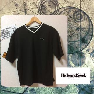 ハイドアンドシーク(HIDE AND SEEK)のハイドアンドシーク V字ネック カットソー(Tシャツ/カットソー(半袖/袖なし))