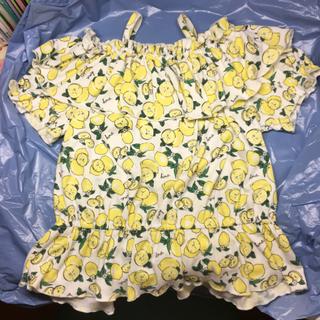 シマムラ(しまむら)のレモン柄カットソー(Tシャツ/カットソー)