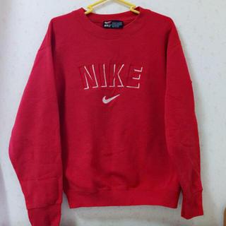 NIKE , 正規品 NIKE トレーナー 赤の通販 by kicco\u0027s shop|ナイキならフリル