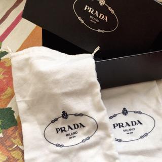 プラダ(PRADA)のPRADAシューズ保管袋とbox(その他)