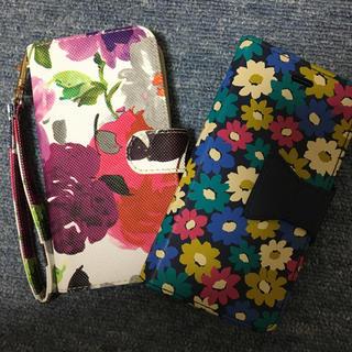パサージュミニョン(passage mignon)のiPhone6ブック型ケース passage mignon 花柄(iPhoneケース)