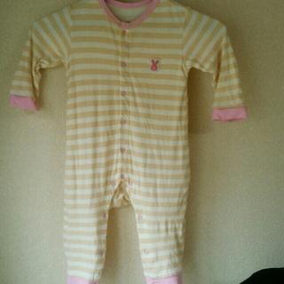 BREEZE(ブリーズ)のBREEZE ロンパース 80 キッズ/ベビー/マタニティのベビー服(~85cm)(ロンパース)の商品写真
